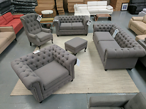BRAND NEW Chesterfield Set - 50% off RRP Epping Whittlesea Area Preview