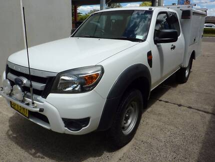 2010 Ford Ranger 4x4 space cab Ute service boxes one year rego