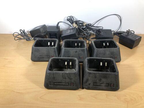 Motorola NTN4881B  Battery Charger - Lot of 5