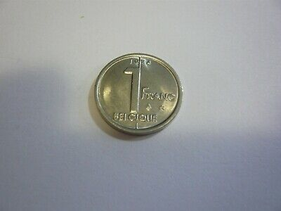 1 franc belgique pièce - belgie munt Albert II 1994