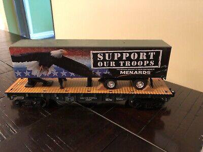 O GAUGE United States Army Support our Troops GOLD SERIES MENARDS 279-3093