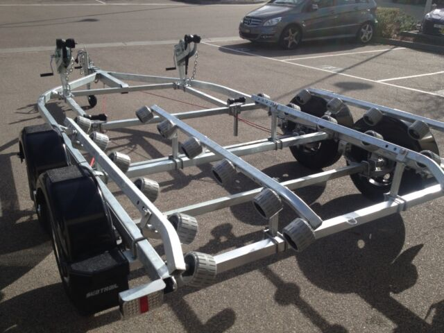 Tandem axle double jet ski trailer trailers gumtree