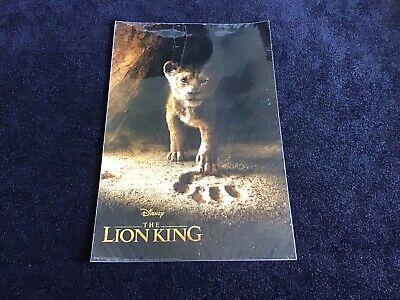 Lion King 2019 Laminated Poster