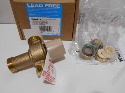 WATTS 1/2 LFMMVM1-CPVC Thermostatic Mixing Valve