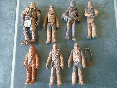 Lot 5 - Star Wars Figures Bundle Wookie Warriors Battle of Kashyyk Army Builder