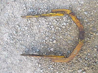 International 154 Low Boy Tractor Ih Belly Mower Rear Drawbar Draw Bar Hitch