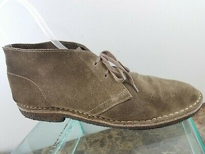 J. Crew Italy MacAlister Brown Suede Lace Up Casual Chukka Desert Boots Mens 11 for sale  Shipping to Canada