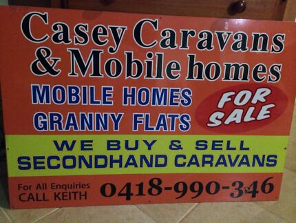 Caravans and cabins wanted Cranbourne Casey Area Preview