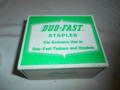 "Duo-Fast 5016 1/2""  Staples (10,000Ct). New."