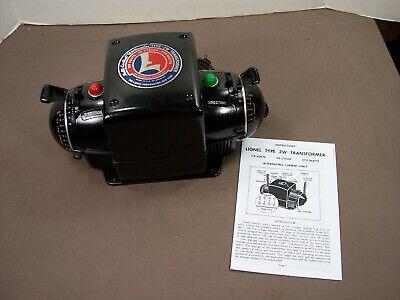 Postwar Lionel ZW Transformer 275 Watts 4 Train Control Completely Serviced