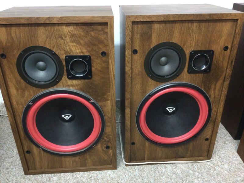 Cerwin Vega Cv-3000 Rare Vintage Speakers