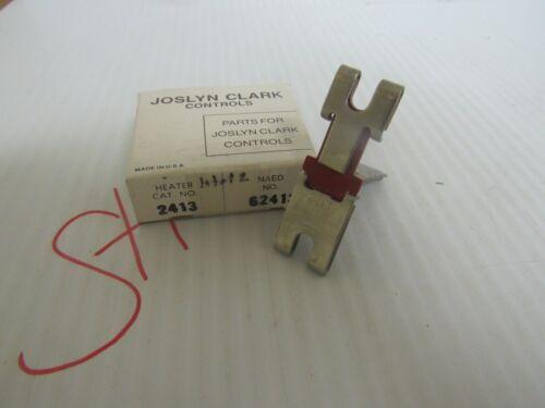 Joslyn Clark Thermal Overload Relay Heater 2413 New