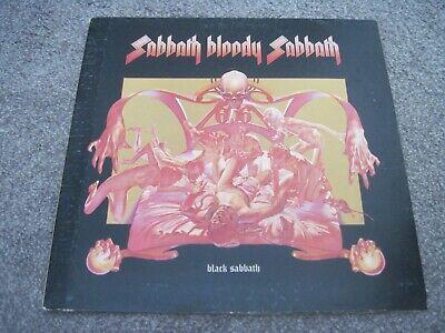 BLACK SABBATH Sabbath Bloody Sabbath & INNER  1973  WWA   superb EX+