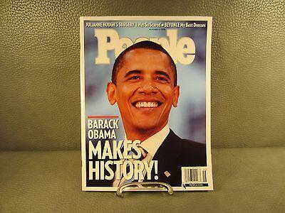 People Magazine President Obama November 17  2008