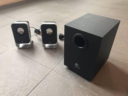 Logitech Computer Desktop Speakers Package - URGENT SALE