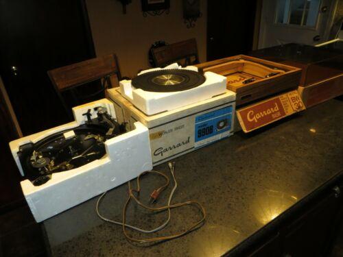 Vintage Garrard 990B Turntable in original boxes