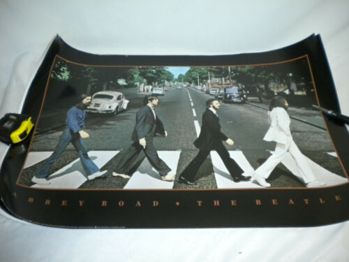 Lot of THREE Beatles posters 1987