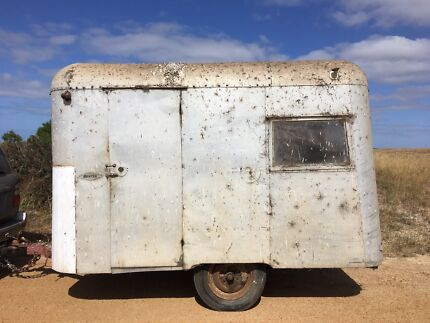 Vintage  Caravan Carapark Hunter Junior South Bunbury Bunbury Area Preview