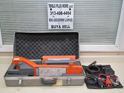 Metrotech 9890 990sfl Pipe Cable Fault Pipe Locator W Case Accessories