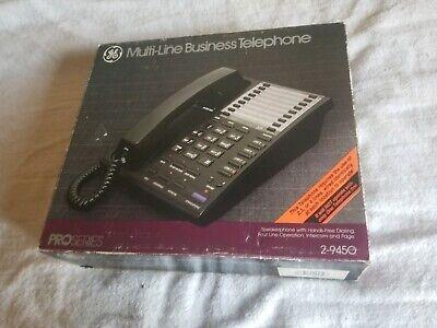 Ge Multi-line Business Telephone 2-9450 Office Desktop Phone 4 Line Capacity