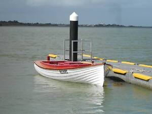 classic wooden boat Goolwa Beach Alexandrina Area Preview