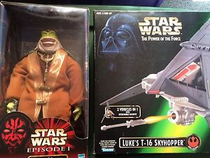 Star Wars Boss Nass and Luke's T-16 Skyhopper