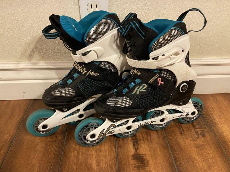 K2 Alexis 84mm Pro Recreational Inline Skates Womens size 6