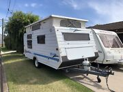 MILLARD HORIZON, 15 FT,  DOUBLE BED , AWNING, LIGHT . TARE 1000KG Adamstown Newcastle Area Preview