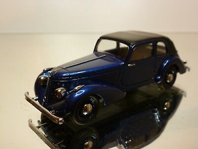 CLASSIQUES 1018 AMILCAR COMPOUND BERLINE 1937 BLUE 1:43 EXCELLENT 20