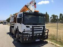 Scania Crane/ Borer Truck Armadale Armadale Area Preview
