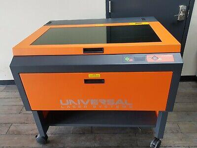 Universal Laser 50 W Fiber  50 W C02 Laser -2 Tubes Engraver Epilog Trotec