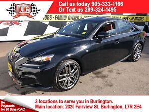 2015 Lexus IS 250 F - Sport, Navigation, Leather, AWD