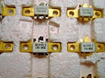 Sd1400-2 Mscapt Rf 7 Microwave Transistors 860-900 Mhz Class C Base Stations