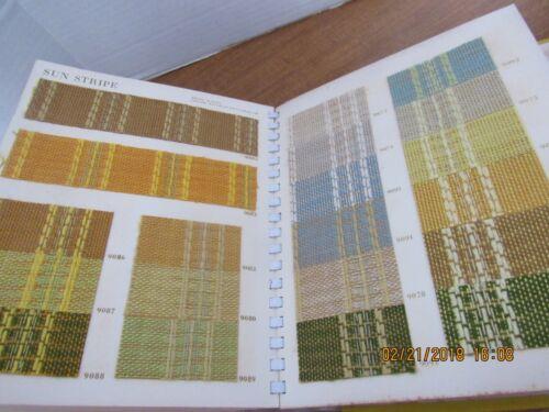 Vintage Exotic Wall Coverings Sample Book Le Carpenter & Co. Vicrtex  Sales Div.
