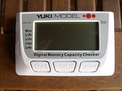 Digital Battery Capacity Checker • NiMH • LiFe • LiPo • Servotester • Balancer Digital Balance
