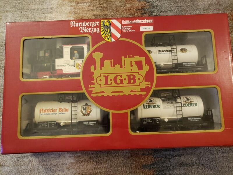 LGB #20539 Nurnberger Bierzug Train Set
