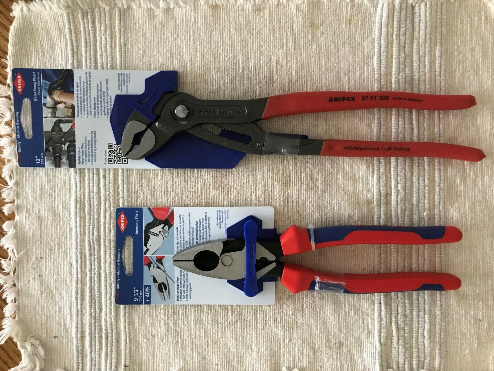 KNIPEX Cobra and Lineman's Pliers