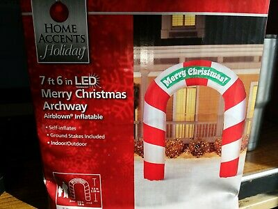 7ft 6in Merry Christmas Archway inflatable