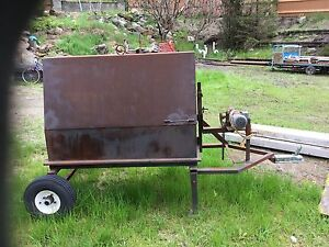 Charcoal Fire BBQ with Rotisserie motor