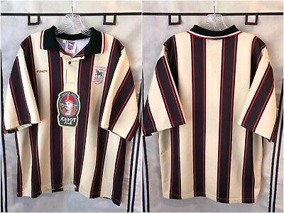 Ipswich Town 1996/98 Away Soccer Jersey XL Punch  image