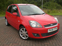 2008 08 FORD FIESTA ZETEC CLIMATE 1.25 45,300 mls ONE OWNER