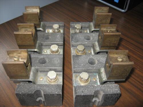 Pair of Allen Bradley 1491-N423 Fuse Blocks
