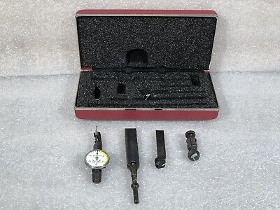 Starrett No. 711 Test Indicator 0.001 With Case Accessories