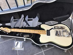 Project Fender Squire Classic Vibe Pine body Flamed Neck Taringa Brisbane South West Preview