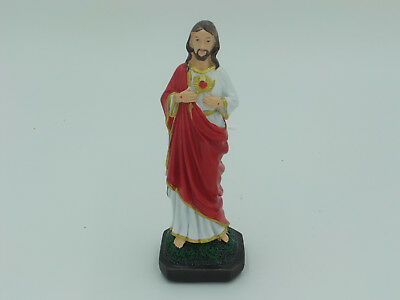 Small Statue of Sacred Heart of Jesus, 8