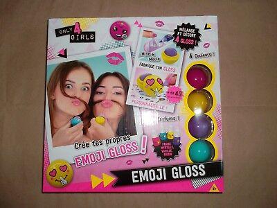 Canal Toys Emoji Gloss / Set für Mädchen Lipgloss Parfüm Behälter Sticker ua NEU (Parfüm Für Mädchen)