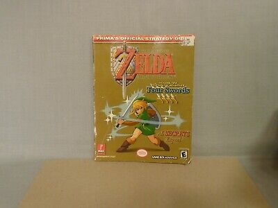 Legend of Zelda A Link To The Past Four Swords Strategy Guide - Prima 2002