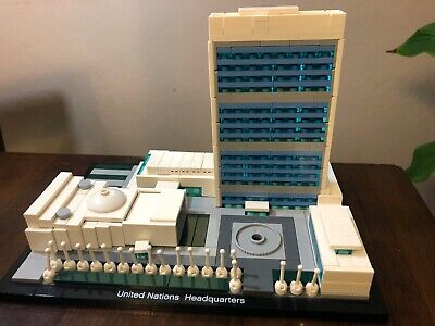 LEGO Architecture United Nations Headquarters Set # 21018 - 100% complete