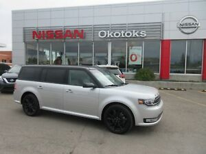 2018 Ford Flex Limited AWD, HEATED LEATHER, NAVIGATION
