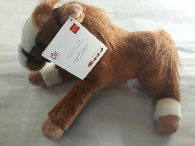 "Wells Fargo Legendary Pony Mack Plush Stuffed Animal 14"" Horse 2012"